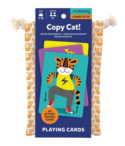 Mudpuppy Copy Cat! Card Game - Elegant Mommy