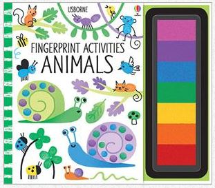 Fingerprint Activities Animals - Elegant Mommy