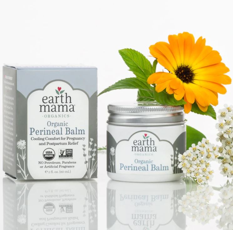 Organic Perineal Balm - By Earth Mama - Elegant Mommy