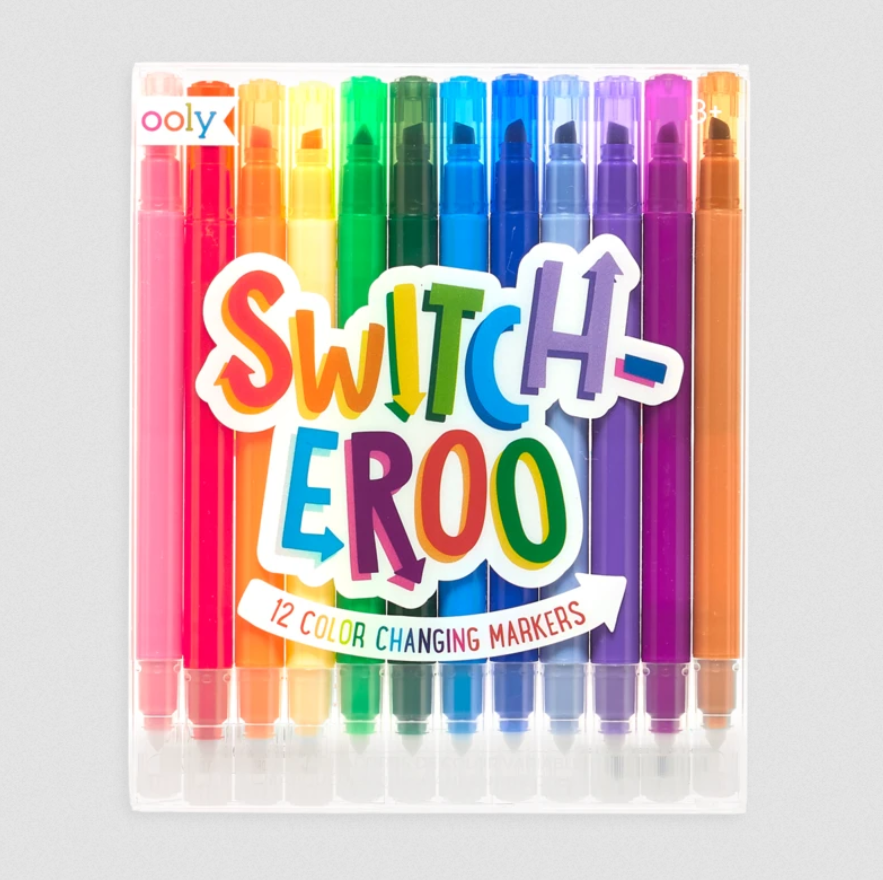 Ooly Switch-eroo Markers Set of 12 Color Changing - Elegant Mommy