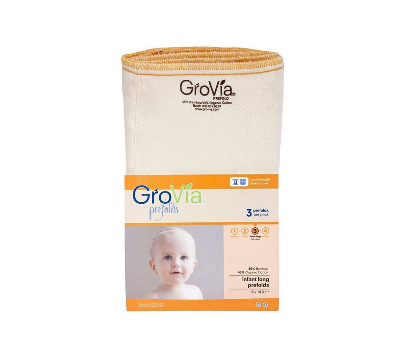 Grovia Prefolds Size 3 - Elegant Mommy