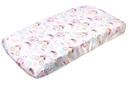 Copper Pearl : Changing Pad Cover Enchanted - Elegant Mommy