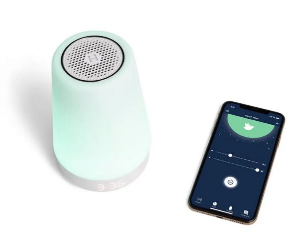 Hatch Rest+ Sound Machine, Night Light, Time-to-Rise & Audio