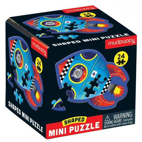 Mudpuppy Spaceship Mini Puzzle - Elegant Mommy