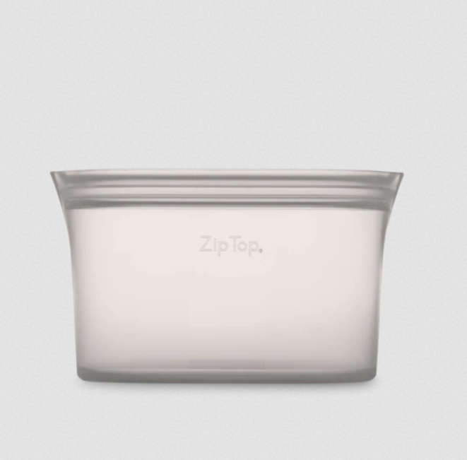 Zip Top Medium Dish - Elegant Mommy