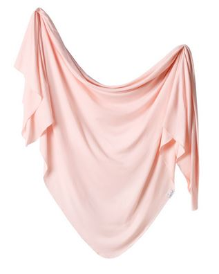 Copper Pearl Blush Swaddle - Elegant Mommy