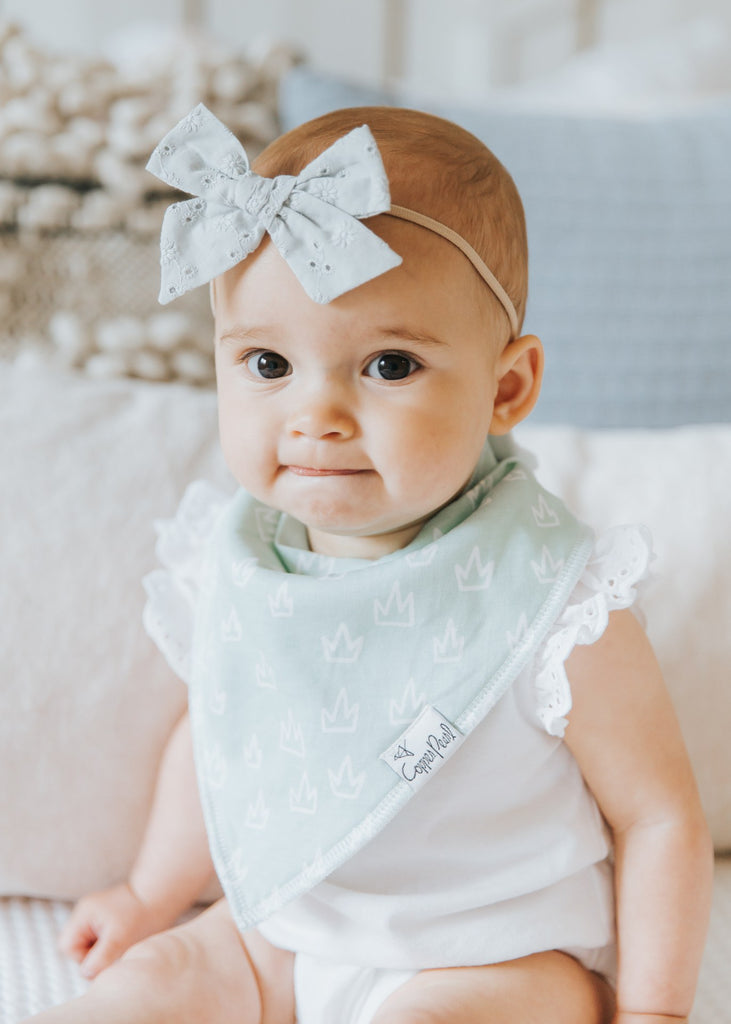 Copper Pearl Enchanted Bib - Elegant Mommy
