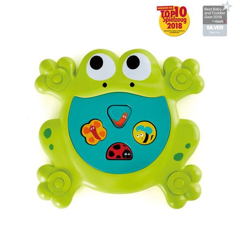 Feed-Me Bath Frog - Elegant Mommy