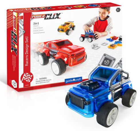 Guidecraft PowerClix Racer Vehicles - Elegant Mommy