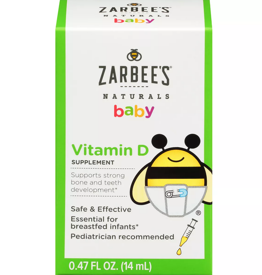 Zarbee's Naturals Baby Vitamin D - Elegant Mommy