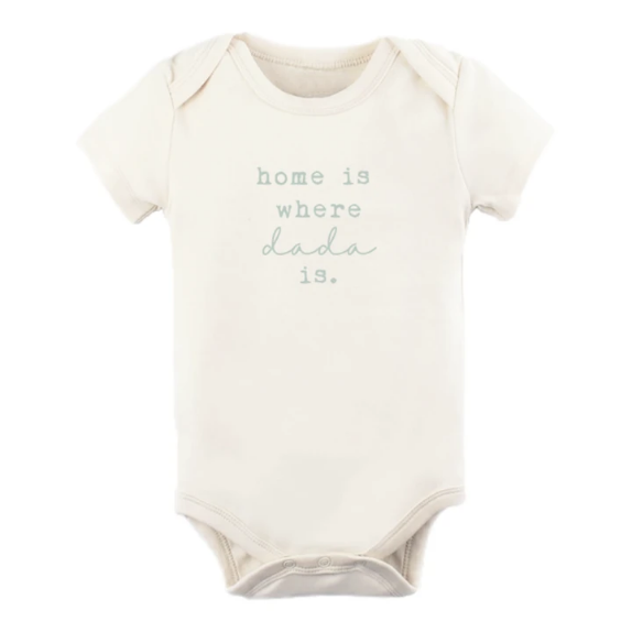 Home is Where Dada Is- Sage- Bodysuit - Elegant Mommy