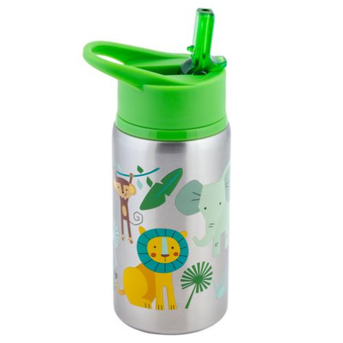 STAINLESS STEEL WATER BOTTLES ZOO - Elegant Mommy