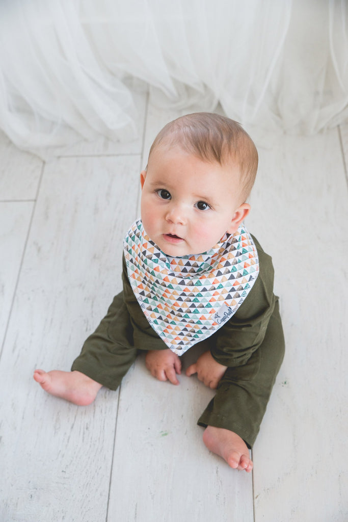 Copper Pearl  Bison Bibs - Elegant Mommy