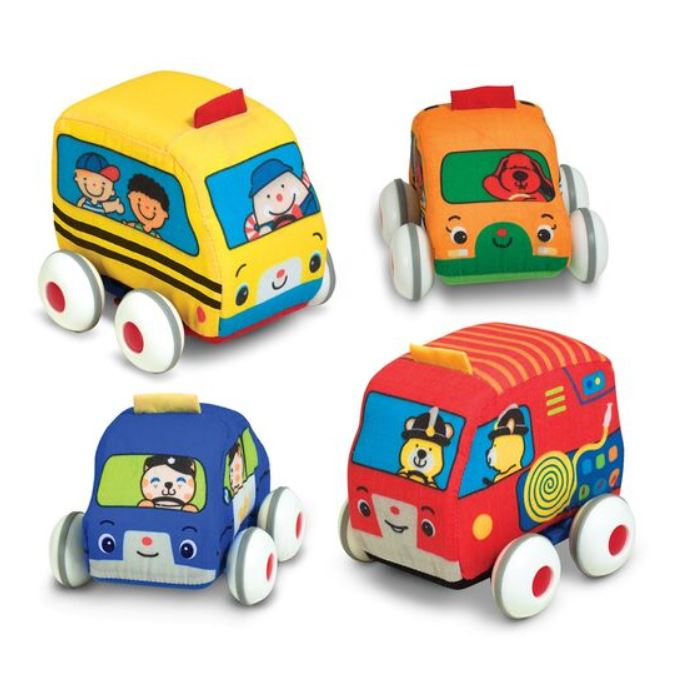 Pull Back Vehicles By Melissa and Doug - Elegant Mommy