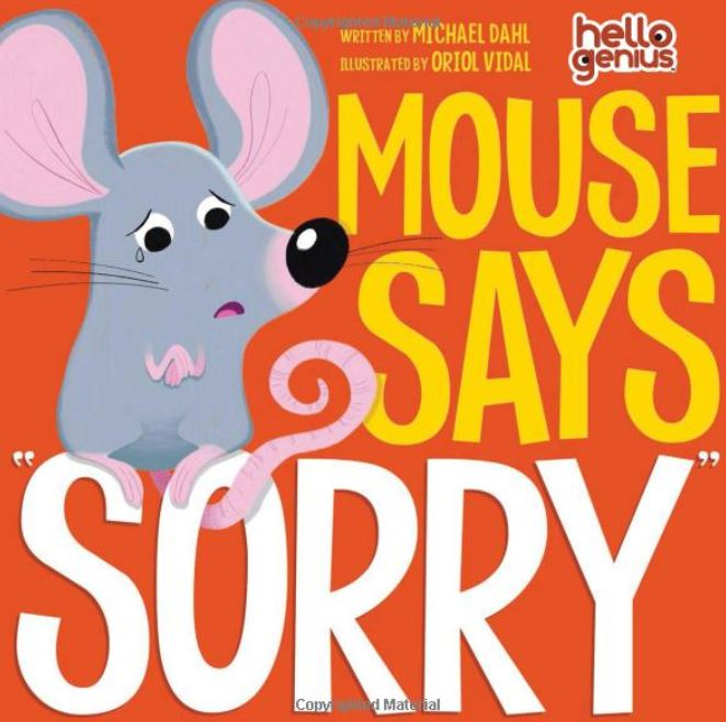 "Mouse Says, ""Sorry"" - Elegant Mommy"