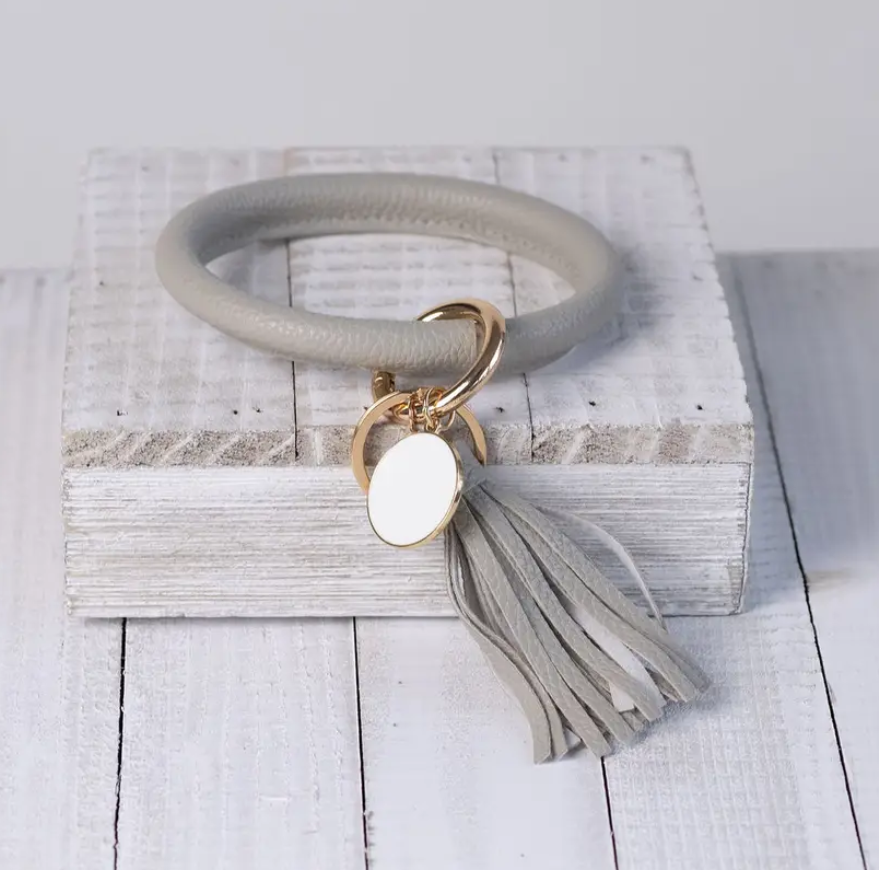 Tassel Bracelet Key Chain - Elegant Mommy