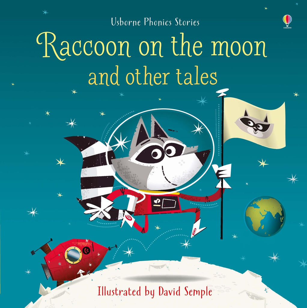 Raccoon on the Moon Book - Elegant Mommy