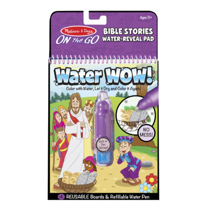 Water Wow - Mess Free Painting! - Elegant Mommy