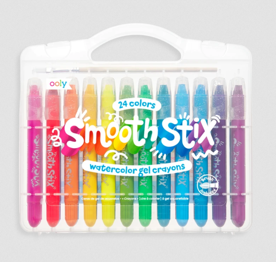 Smooth Stix - Watercolor Gel Crayons - Elegant Mommy