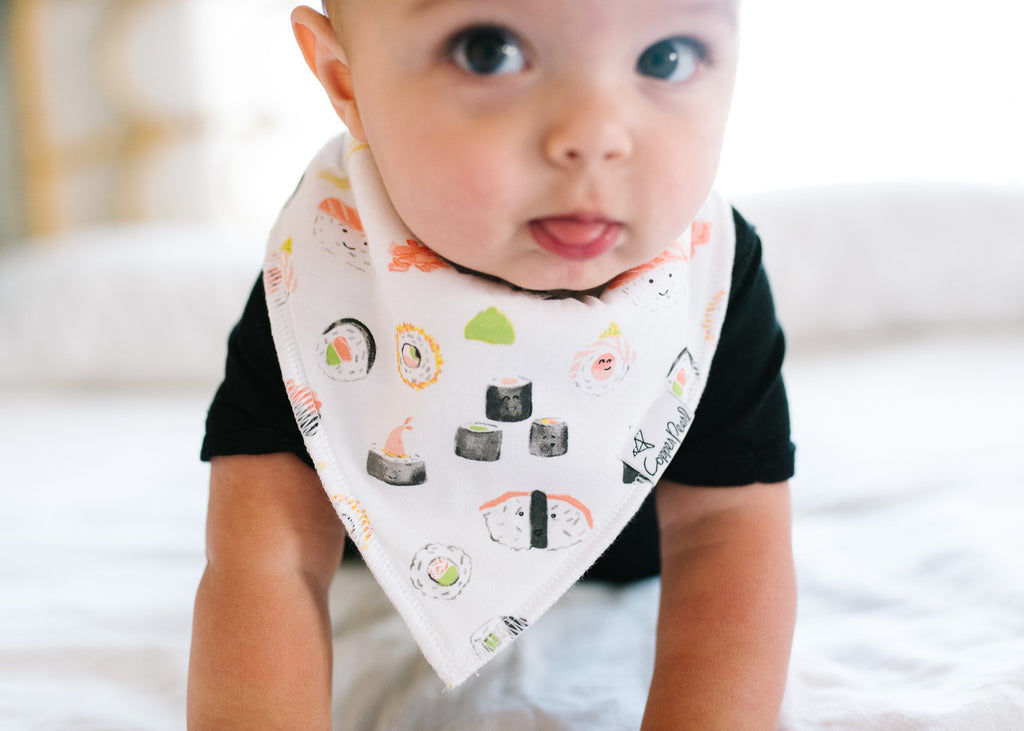 Copper Pearl  Baja Bib - Elegant Mommy