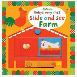 Baby's Very First Slide and See Farm - Elegant Mommy