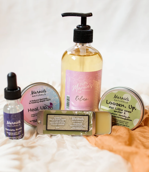 Marnie's Naturals Baby Gift Set - Elegant Mommy