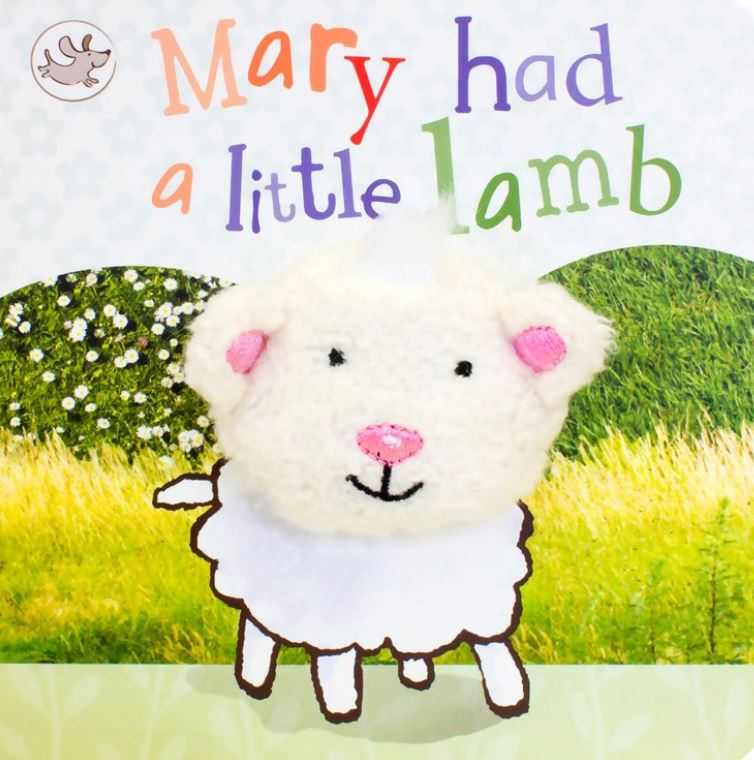 Mary Had A Little Lamb Puppet Book - Elegant Mommy