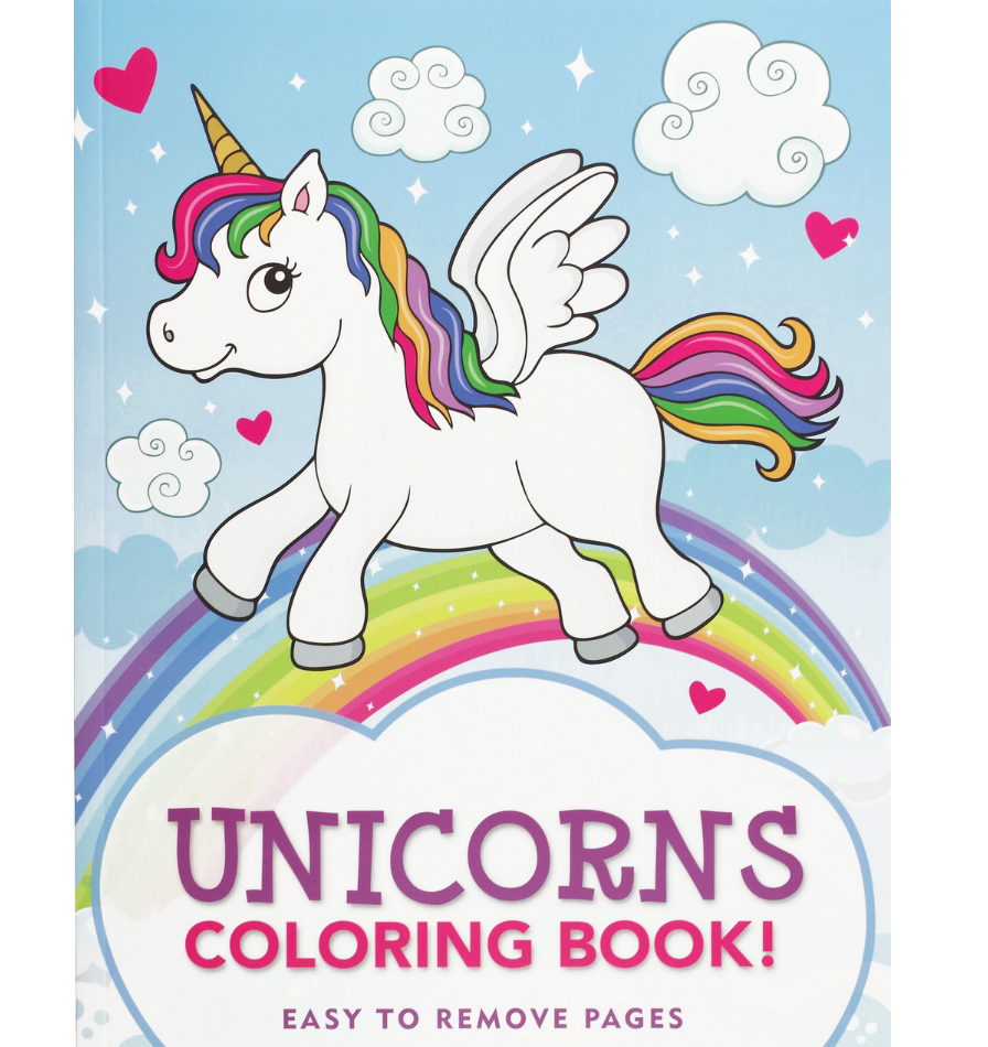 Unicorns Coloring Book - Elegant Mommy