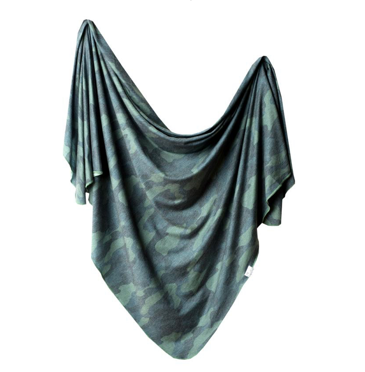 Copper Pearl Swaddle Hunter - Elegant Mommy