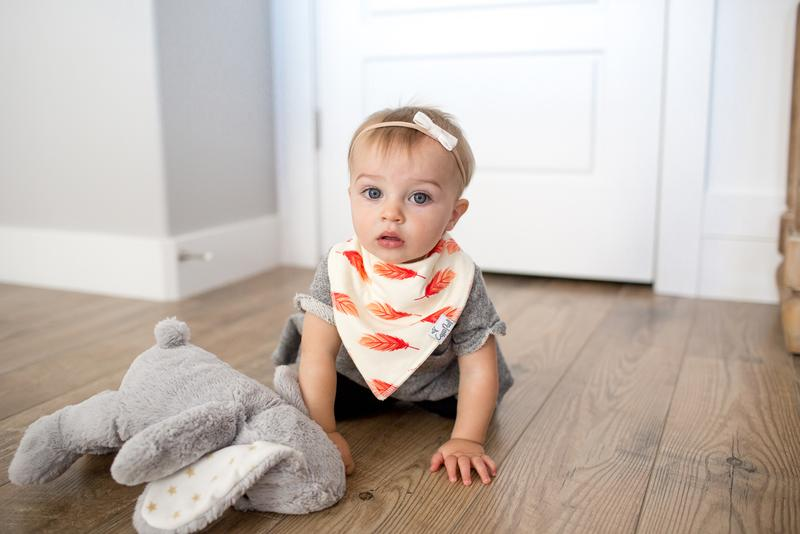 Copper Pearl  Aztec Bibs - Elegant Mommy