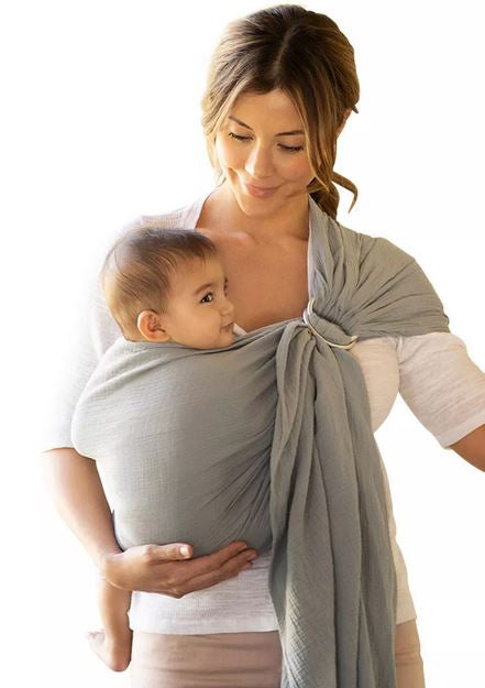 Moby Ring Sling - Elegant Mommy
