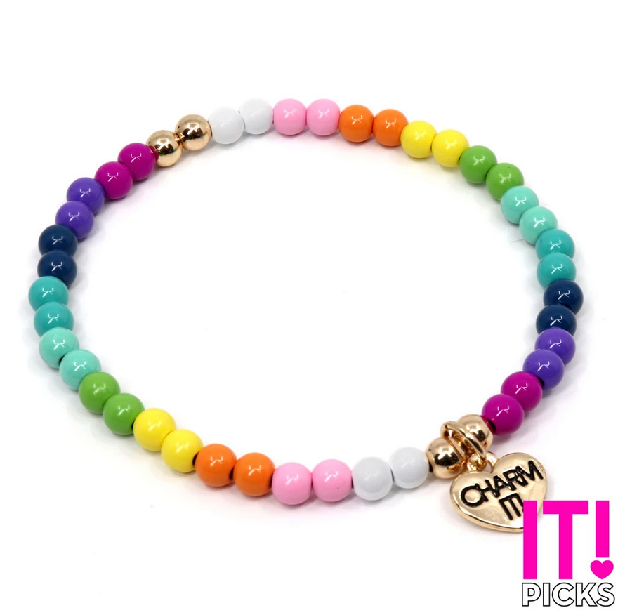 CHARM IT! 4mm Rainbow Stretch - Elegant Mommy
