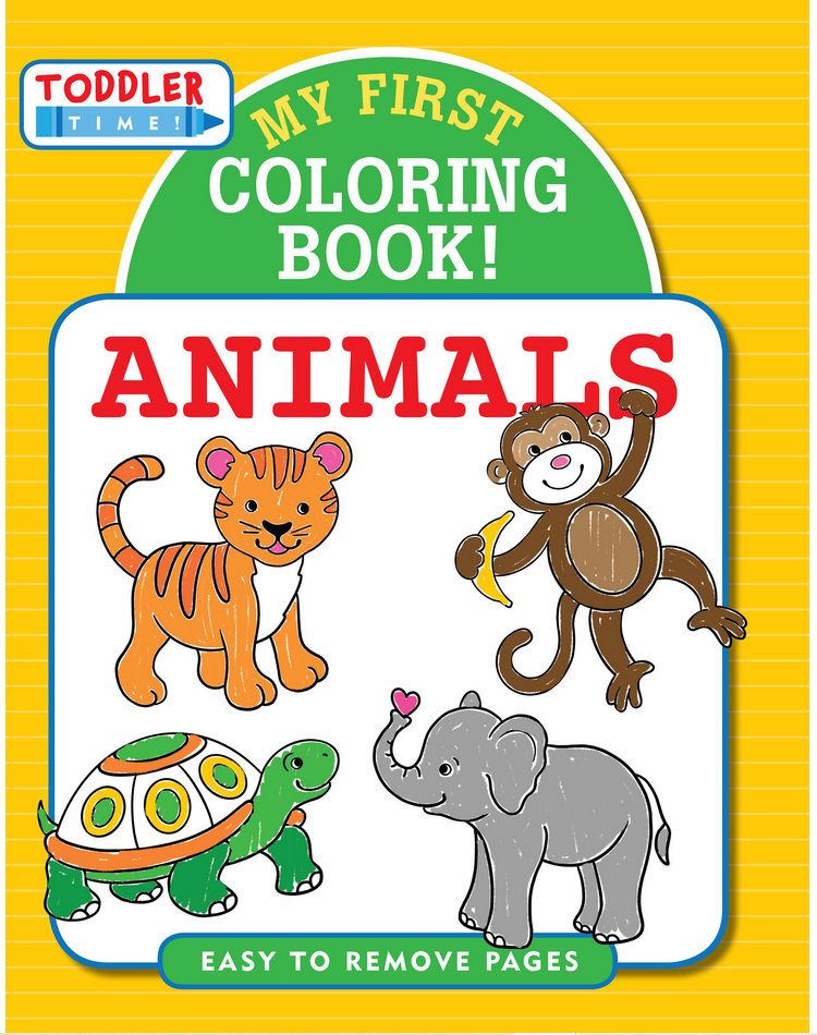 My First Coloring Book: Animals - Elegant Mommy