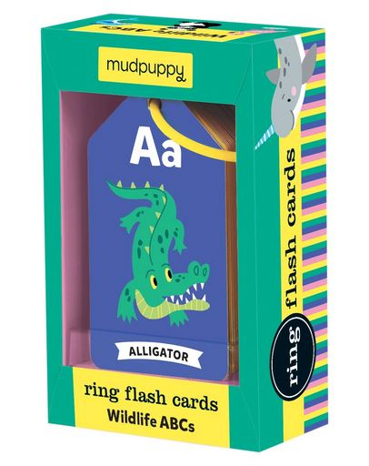 Mudpuppy Wildlife ABCs Flash Cards - Elegant Mommy