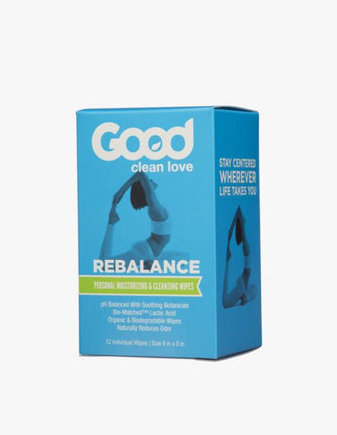 Good Clean Love - ReBalance Personal Wipes