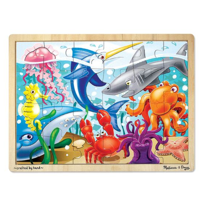 Under the Sea 24 Piece Puzzle - Elegant Mommy
