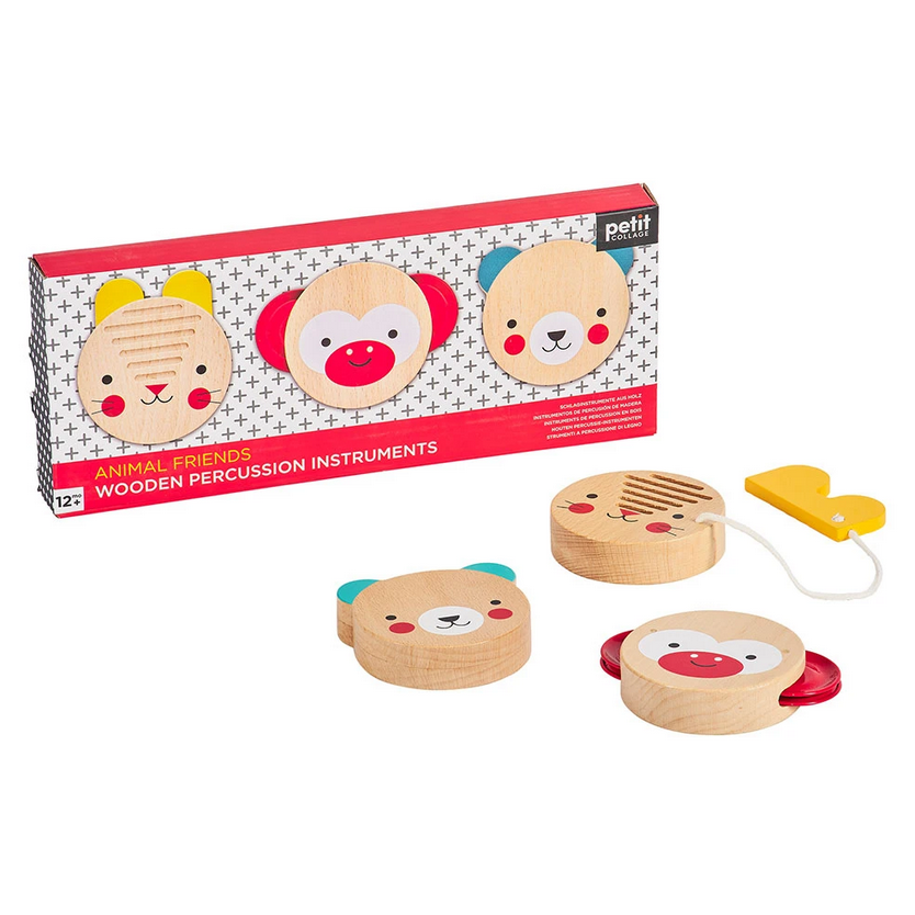 Wooden Musical Percussion Set - Elegant Mommy