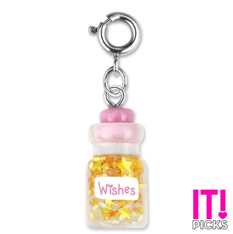 Wishes Bottle Charm - Elegant Mommy