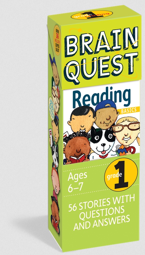 Brain Quest Grade 1 Reading - Elegant Mommy