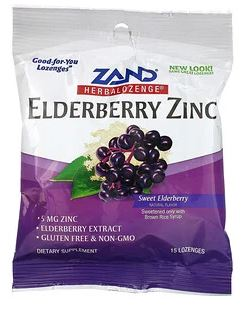 Zand - Elderberry Zinc Lozenges - Elegant Mommy