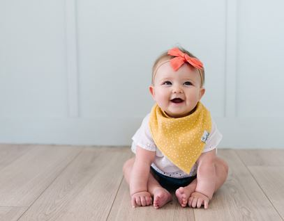 Copper Pearl Hope Bib - Elegant Mommy