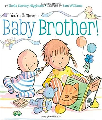 YOU'RE GETTING A BABY BROTHER! - Elegant Mommy