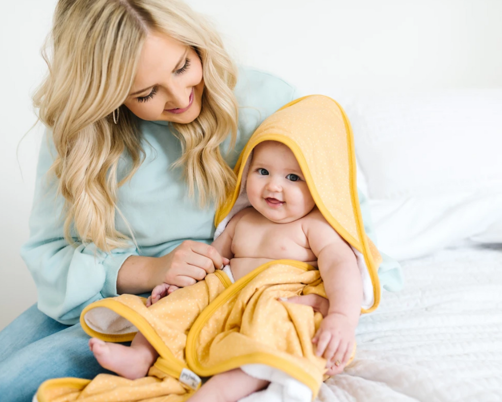 Copper Pearl Hooded Towel - Elegant Mommy