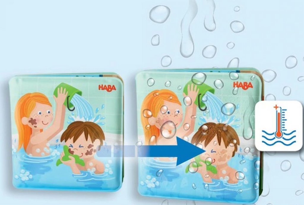 Wash Away Bath Book - Paul and Pia - Elegant Mommy