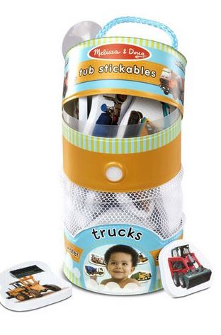 M&D Tub Stickables- Trucks - Elegant Mommy