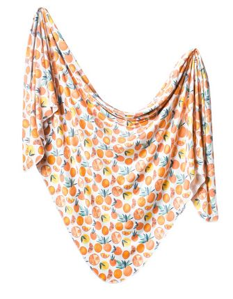 Copper Pearl Swaddle Blankets - Elegant Mommy
