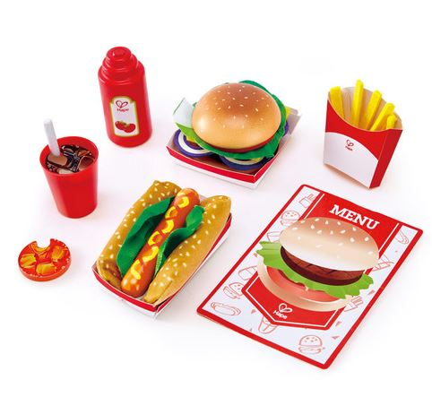 Fast Food Playset - Elegant Mommy