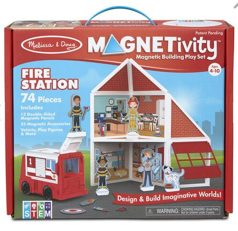 M&D Magnetivity Firestation - Elegant Mommy