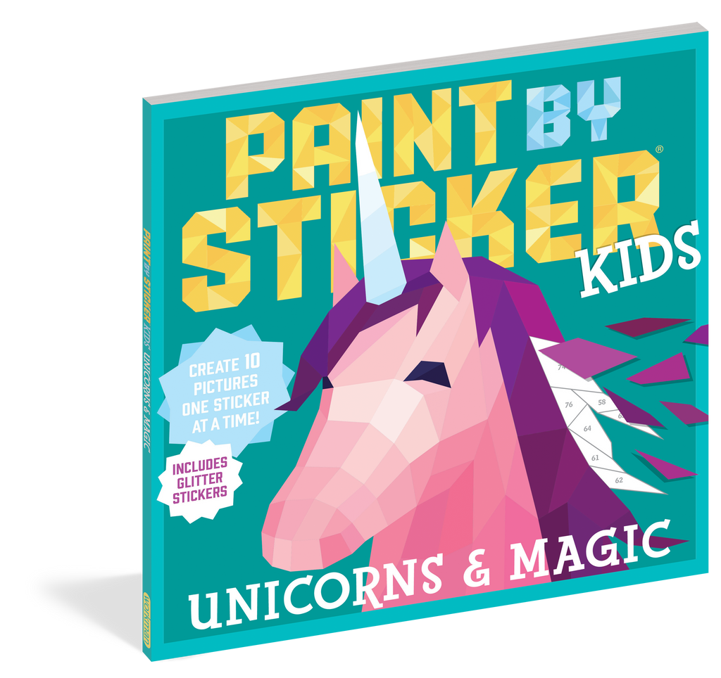 Paint By Stickers Kids: Unicorns and Magic (5+) - Elegant Mommy