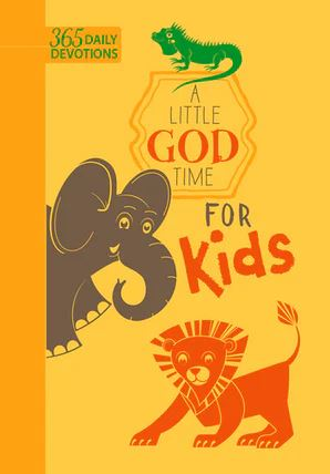 A Little God Time for Kids (Faux) - Elegant Mommy